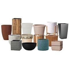 陶器製、樹脂製の特殊鉢カバー