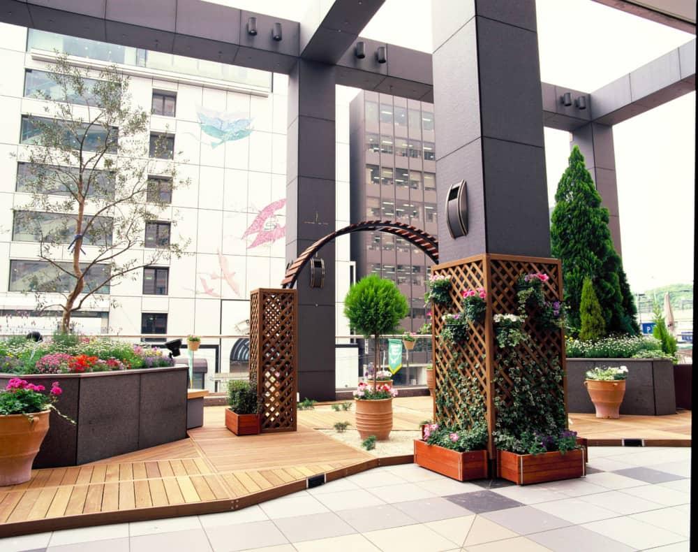 寄せ植え・装飾 | 株式会社西花園導入実績