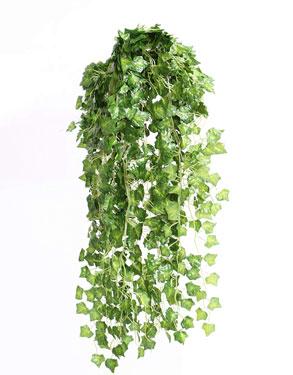 フェイクグリーンのツタ状植物垂れ下がりタイプ